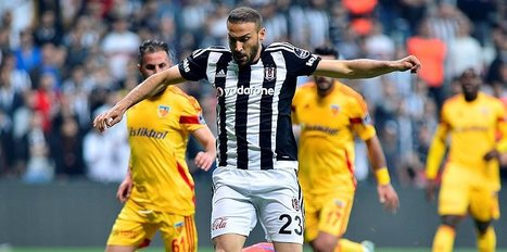 Beşiktaş ile Kayserispor 41. kez...