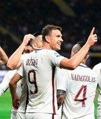 Roma deplasmanda Milan'ı farklı yendi