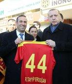 Malatya'da açılış Cumhurbaşkanı'yla