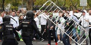 Madrid'de 7 ki�i yaraland�!