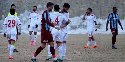 Trabzonspor'a galibiyet yetmiyor