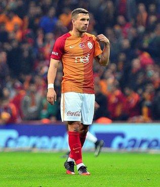 Flaş!.. Lukas Podolski bugün gidiyor