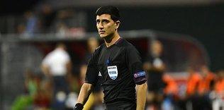 UEFA, Braga maçının hakemini açıkladı