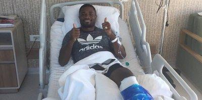 Chedjou ameliyat edildi