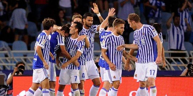 Sociedad, Villarreal'i farklı yendi