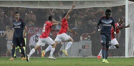 Beşiktaş'ın rakibine elendi