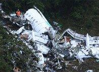 İşte trajik kaza sonrası uçağın enkazı...