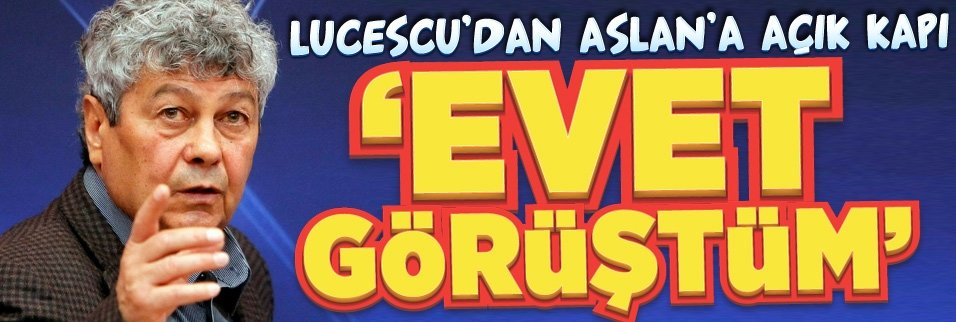Lucescu'dan açık kapı