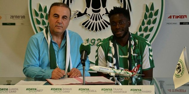 Moke, Atiker Konyaspor'da