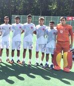 U16 Erkek Hokey Milli Takımı ikinci maçında galip geldi