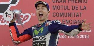 Lorenzo, Yamaha'ya zaferle veda etti