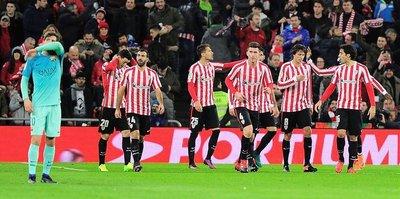 Bilbao, 'Barça'ladı!