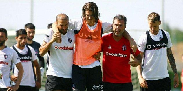 Beşiktaşlı futbolcu 6 ay yok