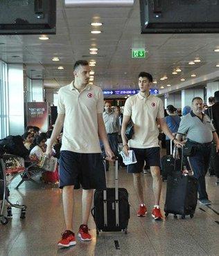 Milli basketbolcular İsrail'e gitti
