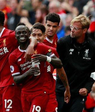 Liverpool siftah yaptı