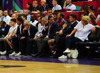 Türkiye - Letonya maçından renkli kareler