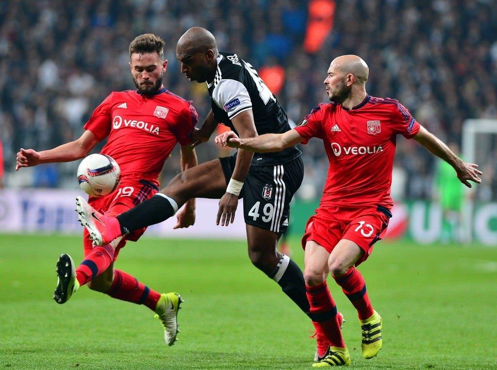 Beşiktaş - Olympique Lyon maçından özel görüntüler