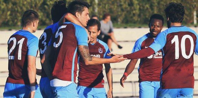 Trabzonspor 4 golle kazandı!