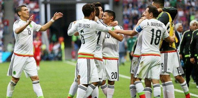 Meksika yarı finale yükseldi
