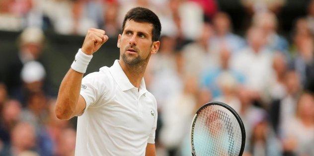Wimbledon'da son çeyrek finalist Djokovic oldu
