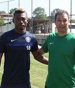 Lingane, Adana Demirspor ile ilk antrenmanına çıktı