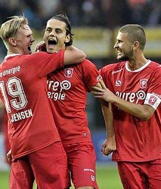 Twente deplasmanda kazand�