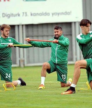 Bursaspor'da Gaziantepspor haz�rl�klar�