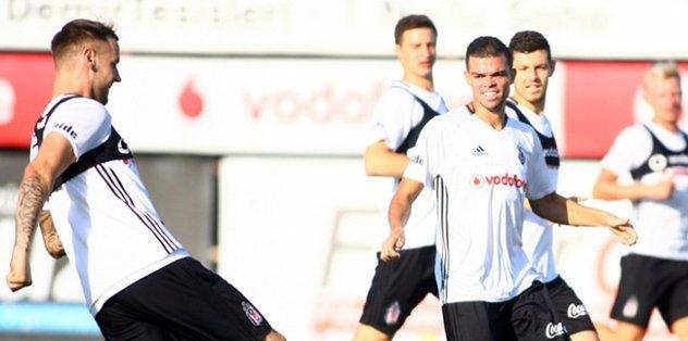Beşiktaş, Antalyaspor maçına hazır
