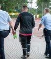Almanya'da ak�l almaz olay