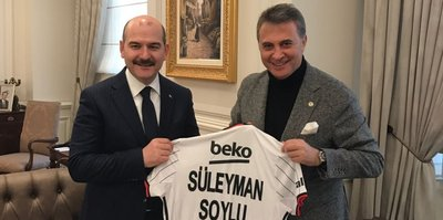 Fikret Orman'dan Süleyman Soylu'ya ziyaret