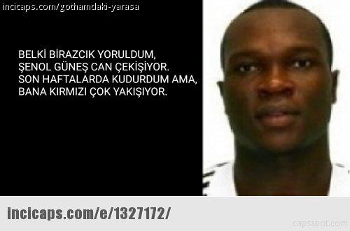 Aboubakar yine atıldı, capsler patladı!