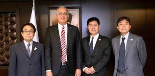 Japon temsilcilerden TVF'ye ziyaret