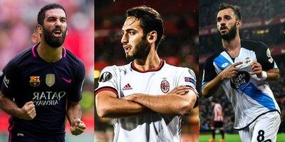 Milli futbolcular Avrupanın dört bir yanında!