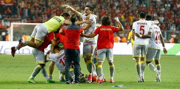 Goztepe advances to Turkish Super