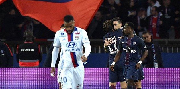 Lyon başladı PSG bitirdi