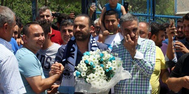 Adana Demirspor Hasan Şaş'la görüştü