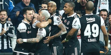 Besiktas open up gap at top with easy victory