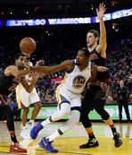 Kevin Durant'tan 'double double'