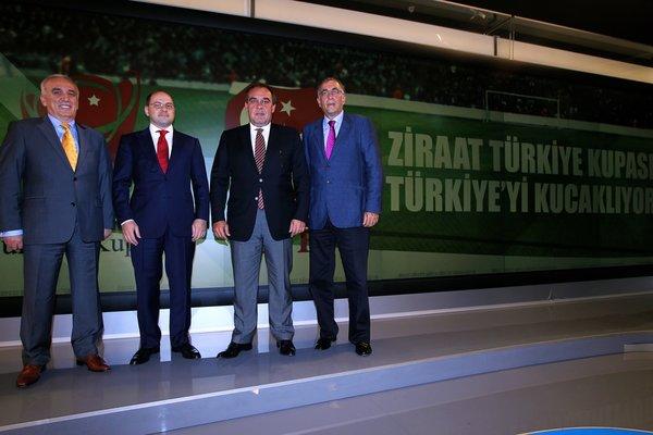 Türkiye Kupası Naklen Yayın Sözleşmesi İmzalandı