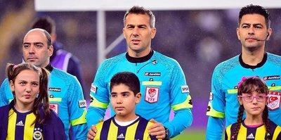 Fenerbahçe maçında penaltı itirazı