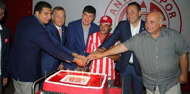 Antalyaspor'un 51. kuruluş yıldönümü kutlandı