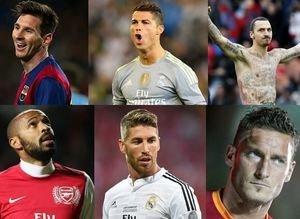 Futbolcuların 20 sene sonraki halleri