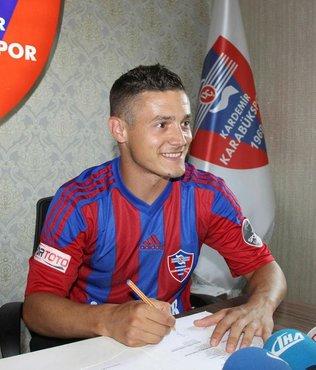 Karabükspor, Torje ile 1 yıllık sözleşme imzaladı