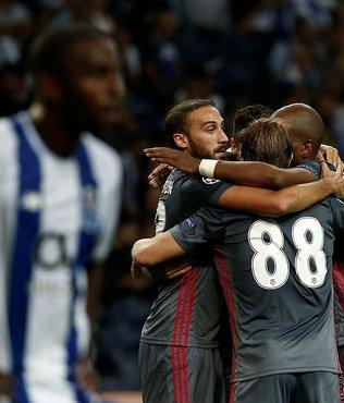 Beşiktaş, G Grubu'nda liderliğe kuruldu