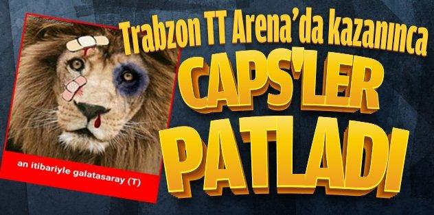 Trabzon Arena'da kazan�nca...