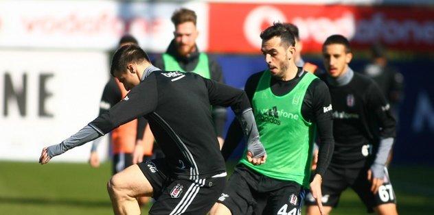 Beşiktaş, Galatasaray derbisinin hazırlıklarına başladı