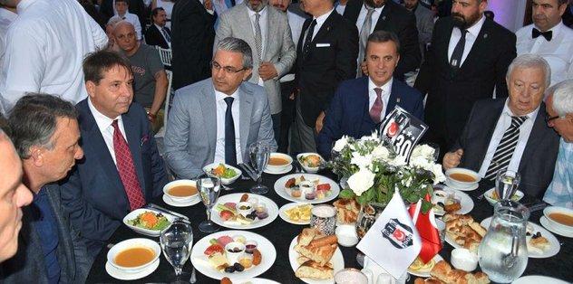 Başkan Orman, İzmirli Beşiktaşlılarla iftar yaptı
