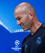 Zidane bizzat duyurdu!