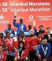 Vodafone İstanbul Maratonu tamamlandı
