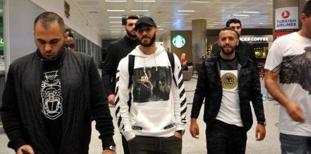 "Real Madridli <a href=""/index/benzema?id=d596cafd-440e-43e0-a11f-6f6f7f013470"" class="""" rel=""tag"">Benzema</a> İstanbul'da"